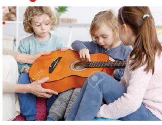 Read more about the article Die kleine Musikwerkstatt / In Begleitung eines Erwachsenen (Kurs 19 im Programmheft)