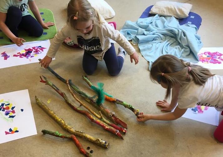 Read more about the article Yoga und Kunst für Kinder von 5 – 7 Jahren (Kurs 2.2 im Programmheft)